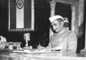 DR RAJENDRA PRASAD THE FIRST PRESIDENT