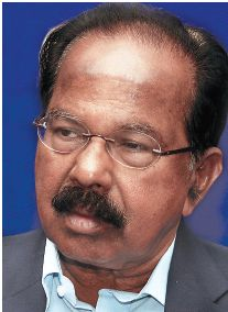 VEERAPPA MOILY - UNION LAW MINISTER