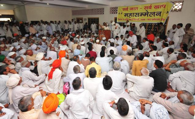 KHAP PANCHAYATS IN PROGRESS