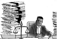 BACKLOGS IN INDIAN COURTS