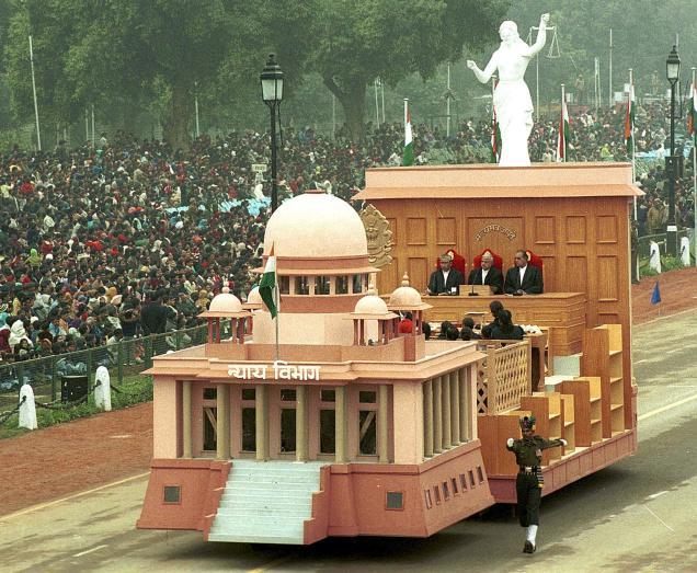 THE SC TABLEU IN 2004 REPUBLIC DAY