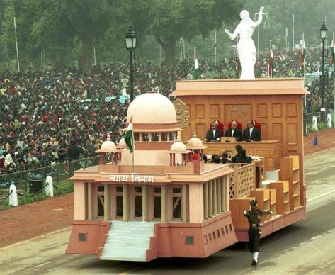 THE SC TABLEU IN 2004 REPUBLIC DAY