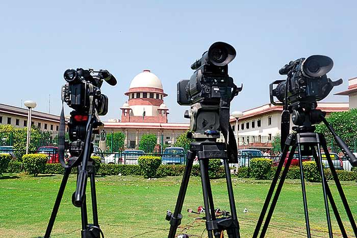 MEDIA VS SUPREME COURT